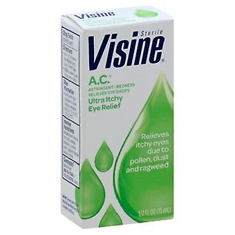 Visine A.C. Ultra Itchy Eye Relief Eye Drops 3 Pack