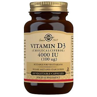 Solgar Vitamin D3 100ug (4000iu) Vegicaps 60 (52907)