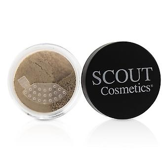 SCOUT Cosmetics Mineral Powder Foundation SPF 20 - # Camel 8g/0.28oz