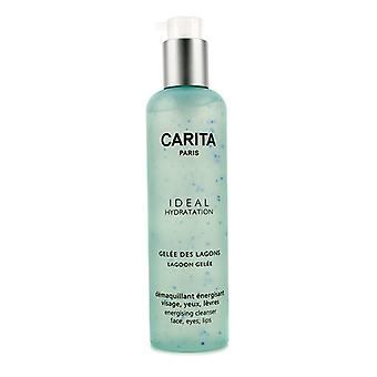 Carita Ideal Hydratation Lagoon Gelee Energising Cleanser For Face, Eyes and Lip 200ml/6.7oz
