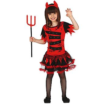 Filles Devil Monster Halloween Fancy Dress Costume