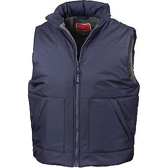 Result - Fleece-Lined Mens Bodywarmer / Gilet