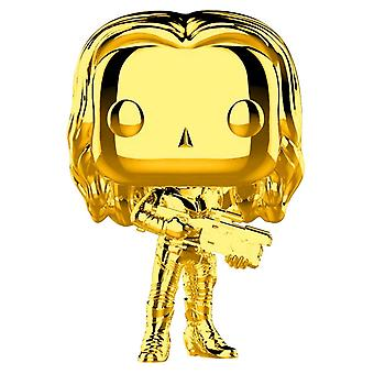 Marvel Studios 10. Jahrestag Gamora Gold Chrome Pop!
