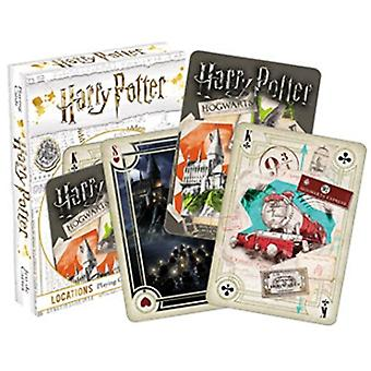 Karta do gry-Harry Potter-Lokacje Poker New 52479