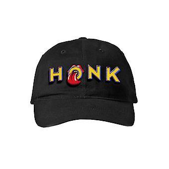 The Rolling Stones Baseball Cap Honk Album Band Logo Official Black Strapback