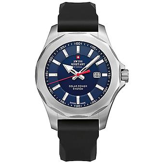 Sms34073. gy6rub Quartz analog man Watch med silikone armbånd SMS 34073.08