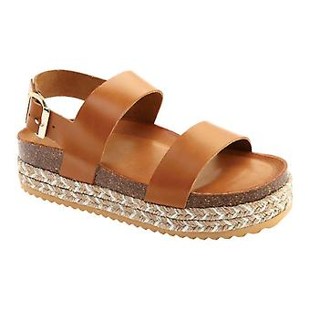 Aldo Womens ruryan Leather Open Toe Casual Platform Sandals