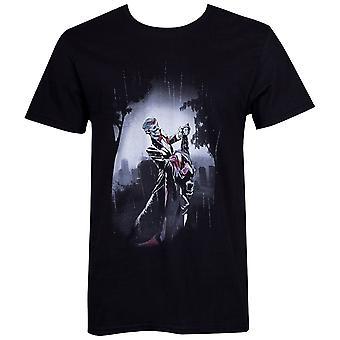 Joker Dance en död i familjen Batman #17 Comic Cover män ' s T-shirt