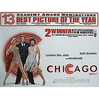 Chicagon (laina ukset) alkuperäinen elokuva juliste