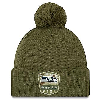 New Era Salute to Service Women's Hat - Seattle Seahawks