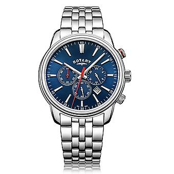 Rotary GB05083-05 Men's Monaco Chronograph Wristwatch