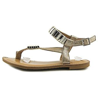 Bar III Womens Verna Fabric Open Toe Casual Ankle Strap Sandales