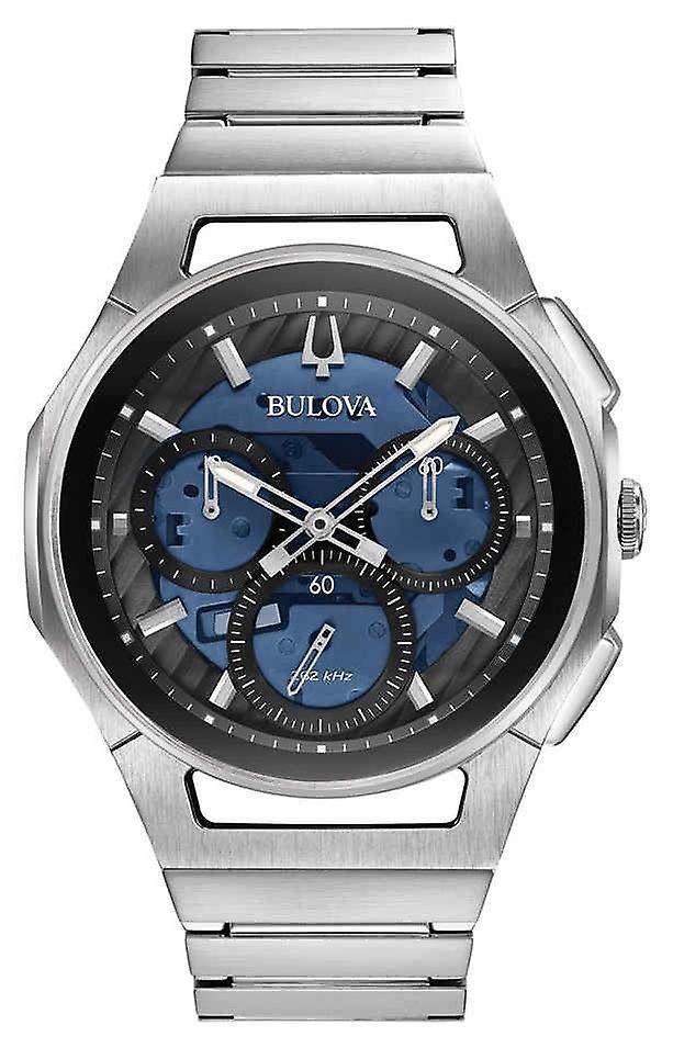 Bulova 96a205 Curv Chronograph men's Watch 44 Mm