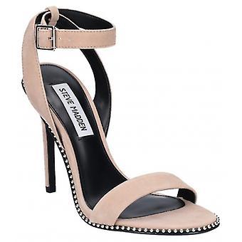 Steve Madden Sylvie dames Suede enkel riem hoge hak sandalen Rose