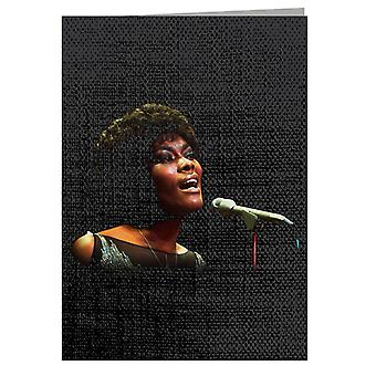 TV Times Dionne Warwick Live Greeting Card
