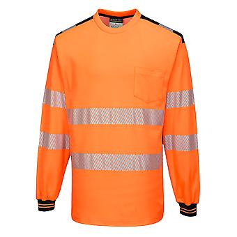 sUw - PW3 Hi Vis Workwear Long Sleeve T-Shirt