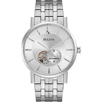 Bulova 96A238 Silver Tone Automatic Wristwatch