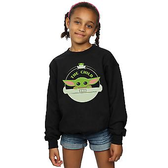 Star Wars Girls The Mandalorian The Child And Frog Sweatshirt