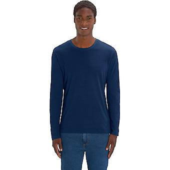greenT Mens Organic Cotton Shuffler Denim Long Sleeve Top