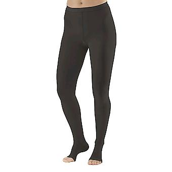 Pebble UK Medical Weight Toeless Compression Tights [Style P293] Black  S