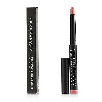 Youngblood Color Crays Matte Lip Crayon - # Pink Bikini 1.4g/0.05oz
