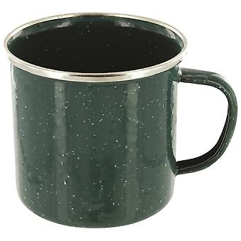 Highlander Green Deluxe Enamel Mug