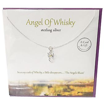The Silver Studio Angel Of Whisky Pendant
