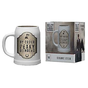 Peaky Blinders Tankard By Order Shelby Brothers new Official Ceramic Boxed