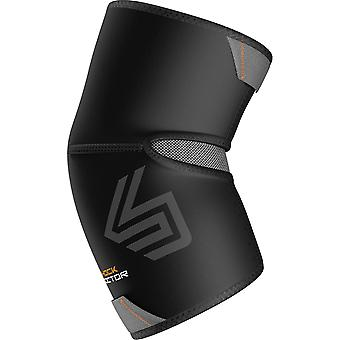 Shock Doctor Elbow Compression Sleeve with Extended Coverage - Black