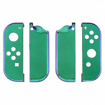 Housing shell for nintendo switch joy-con controller hard casing replacement - chameleon purple blue green | zedlabz