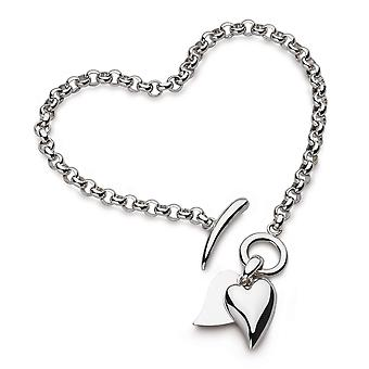 Kit Heath Desire Love Duet Heart 7.5 'quot; T- Bar Bracelet 70507RP