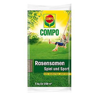 COMPO Lawn Seed Game and Sport, 5 kg
