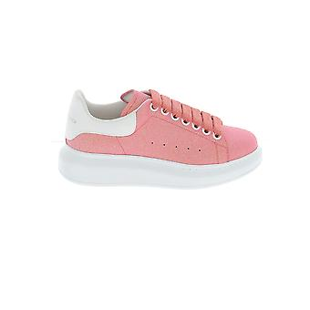 Alexander Mcqueen 558944w4lv19243 Damen's Rosa Leder Sneakers