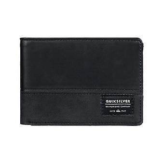 Quiksilver Nativecountry II Faux Leather Wallet in Black