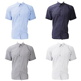 Dickies Short Sleeve Cotton/Polyester Oxford Shirt / Mens Shirts