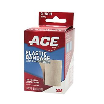 3m ace brand elastic bandage with hook closure, 3 inch, 1 ea