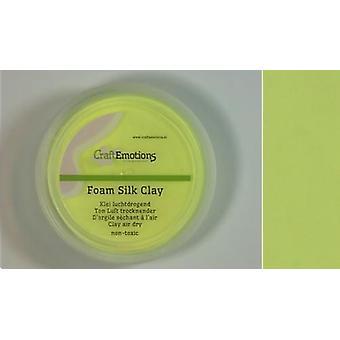 CraftEmotions Silk foam clay - lemon 28gr Air dry