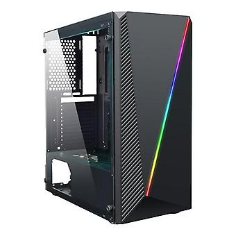 Micro atx /atx midtower case coolbox deep abyss rgb led