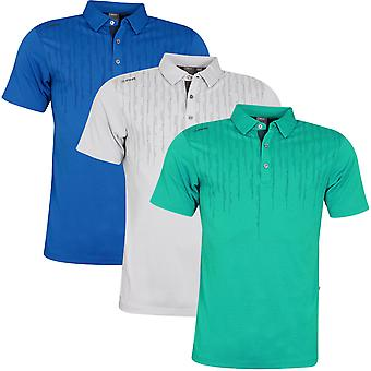 Ping Collection Mens 2020 Carbon Short Sleeve Wicking Quick Dry Golf Polo Shirt