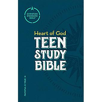 CSB Heart of God Teen Study Bible - Hardcover by Mark L. Strauss - 97