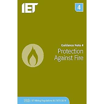 Guidance Note 4 - Protection Against Fire by The Institution of Engine