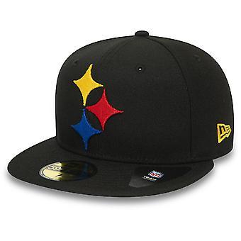 عصر جديد 5950 قبعة المجهزة -- ELEMENTS بيتسبرغ ستيلرز