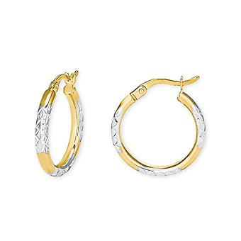 amor Women's Hoop Earrings Gold_Yellow - 9073573