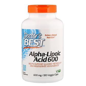Ácido Alfa-Lipoico 600 mg (180 Veggie Caps) - Doctor's Best