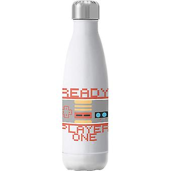 Retro Game Pad Ready Player One Insulated Stainless Steel Water Bottle