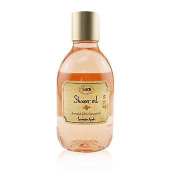 Sabon Shower Oil - Lavender Apple (Plastic Bottle) 300ml/10.1oz