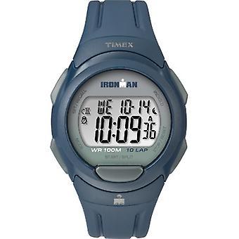 Tw5M16500, Timex Tw5M16500 Men'S Ironman  Essential 10 Navy Strap Watch