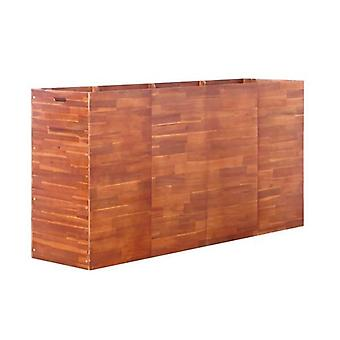 Garden Planter Acacia Wood 50 Cm