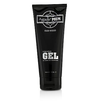 Agadir men oud wood firm hold gel 217830 198ml/6.7oz