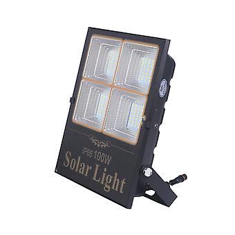 Jandei Güneş LED Projektör Ayrılmış Doğulabilir Güneş Paneli, Uzaktan Kumanda, 100W, 2291 Lümenler. Ip65 Dış Koruma. Özerklik 2 Gece. 200 LED